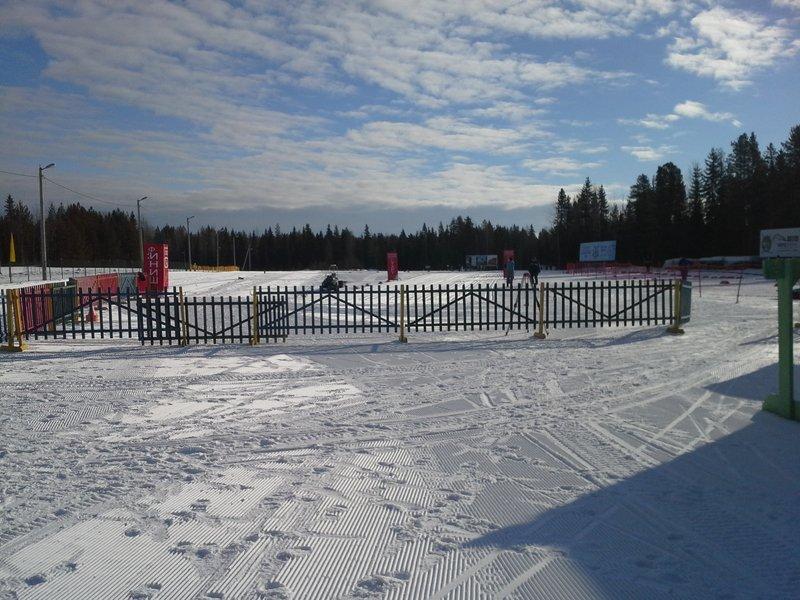 Лыжный стадион Малые Карелы
