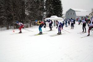 Лыжная гонка в ЦСО Карпово 2017