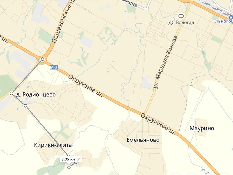 Карта Кирики