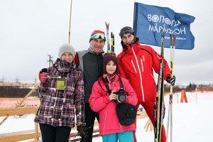 Харовский лыжный марафон 2016