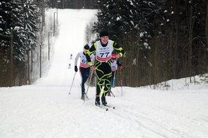 Лыжная гонка в ЦСО Карпово 2018